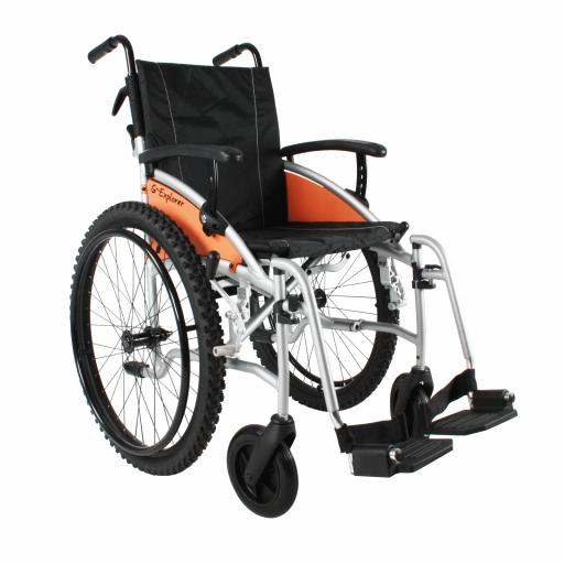 terénní invalidní vozík