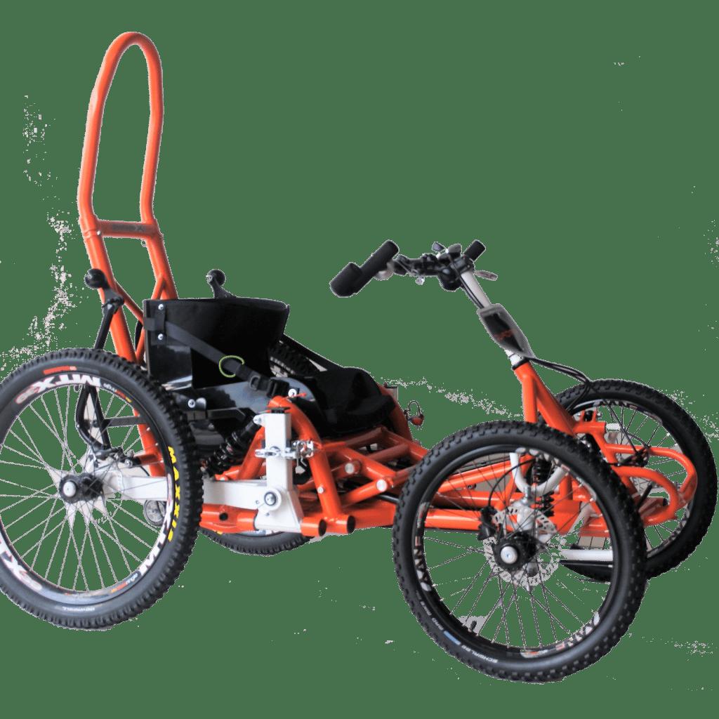 quadix-hands-all-terrain-gravity-wheelchair-side-view