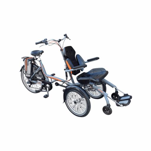 kolo s vozíkem